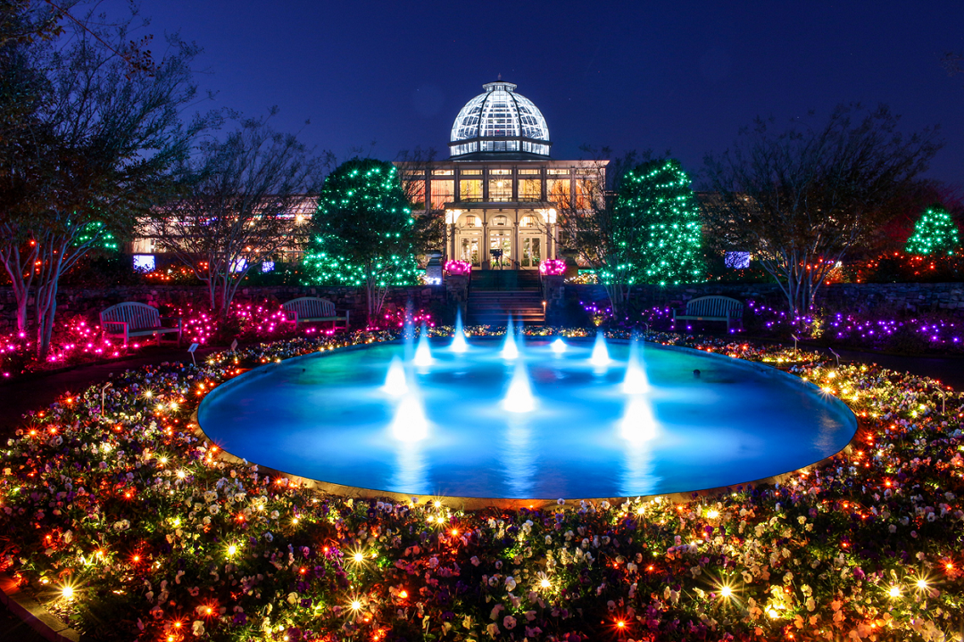 join lewis ginter botanical garden as we illuminate dominion energy gardenfest of lights the regions ultimate holiday extravaganza - Lewis Ginter Botanical Garden
