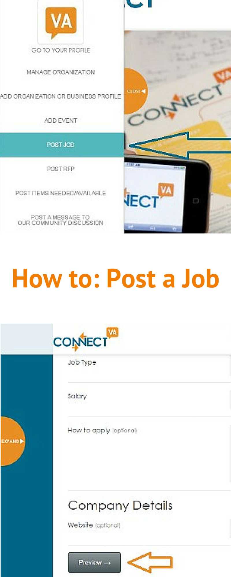 tip of the week how to edit and promote a job opening connectva i ve posted a job but i need to make a change how do i edit my listing
