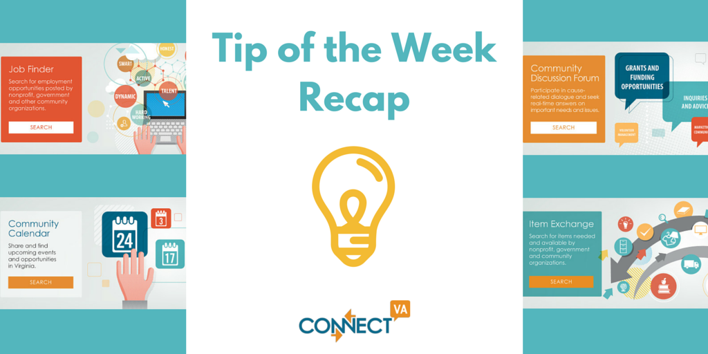 Tip of the Week (2)