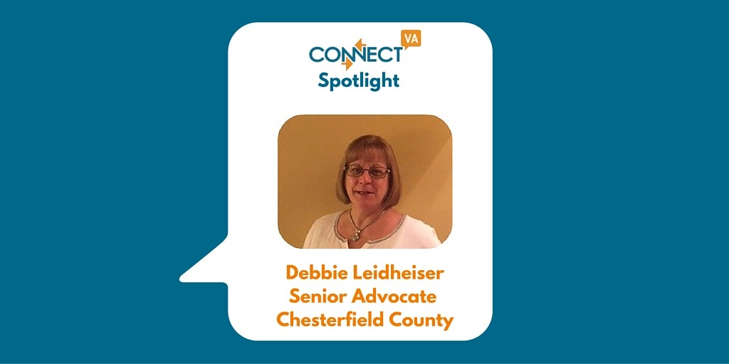 Debbie Leidheiser - Chesterfield County Senior Advocate