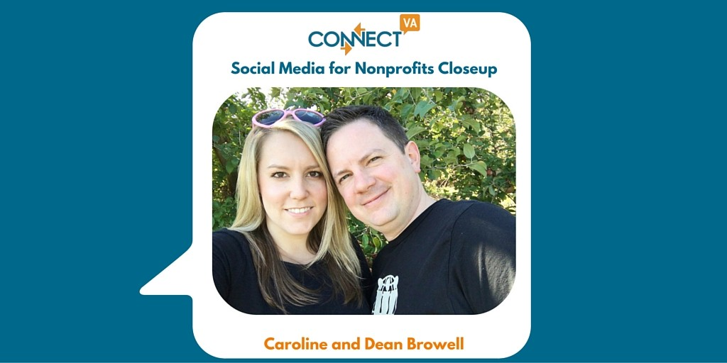 Caroline and Dean Browell