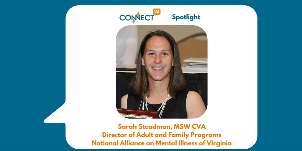 ConnectVA Spotlight-Sarah Steadman