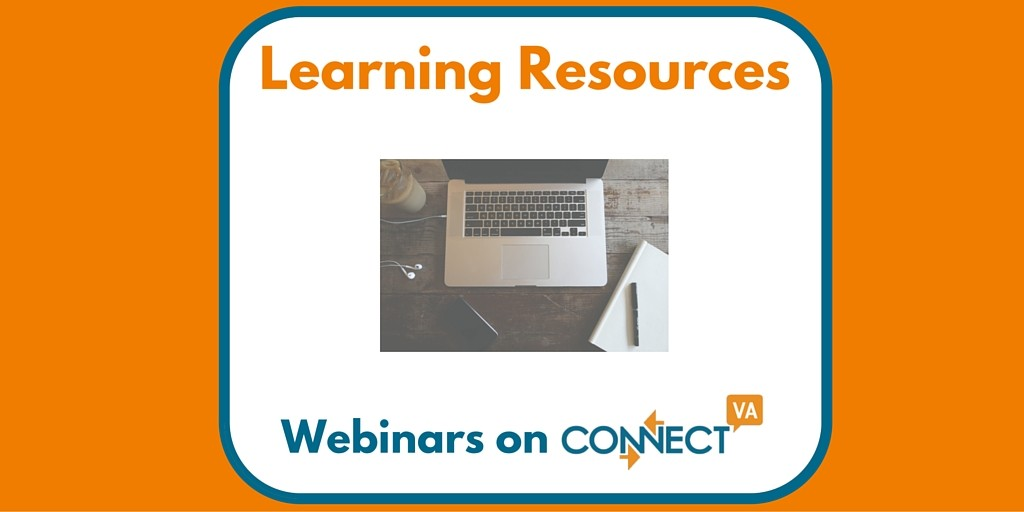 Webinars on ConnectVA