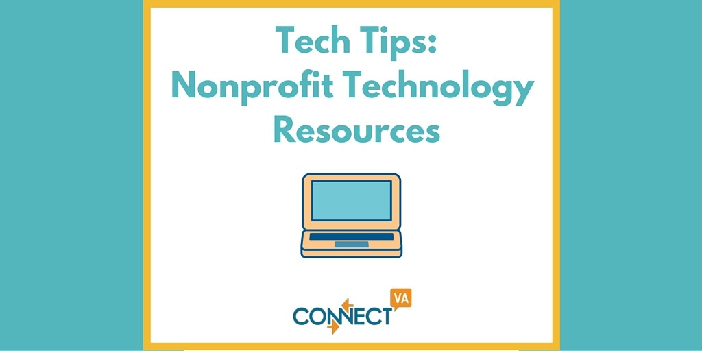 Tech Tips- Nonprofit Technology Resources (1)