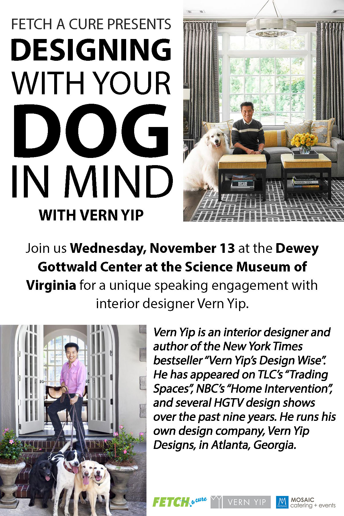 Designing With Your Dog In Mind With Vern Yip