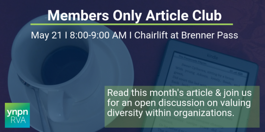 Members Only Article Club May (YNPN RVA 2019 Members Only)