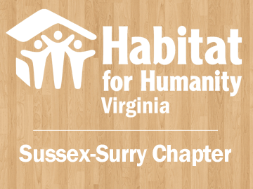 Organization logo of Habitat for Humanity Virginia (Sussex-Surry)