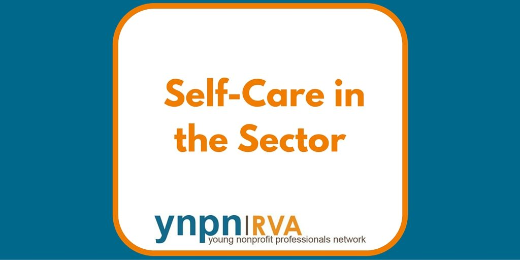 self care in the sector