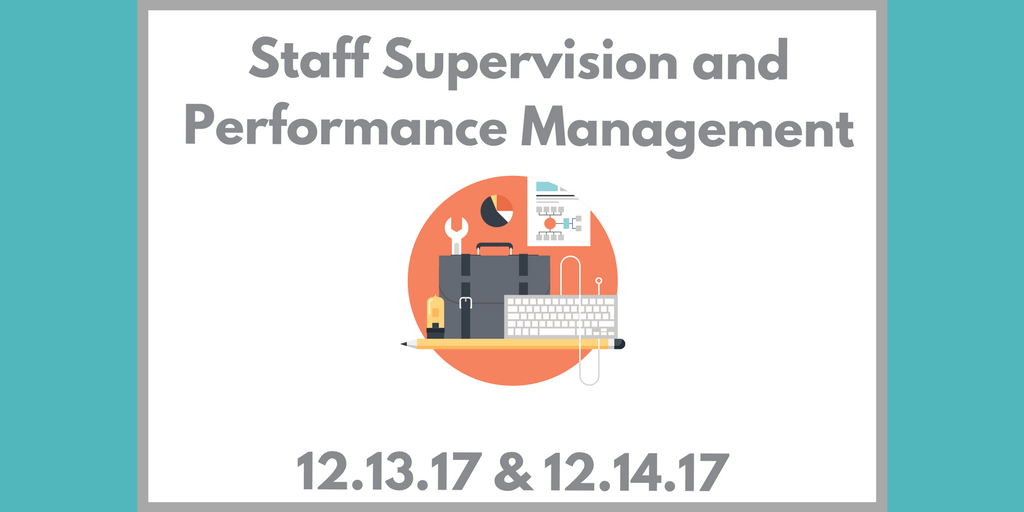 supervision performance management The performance management policy is closely linked to the following uw–madison policies are trained in the performance management program supervisor.