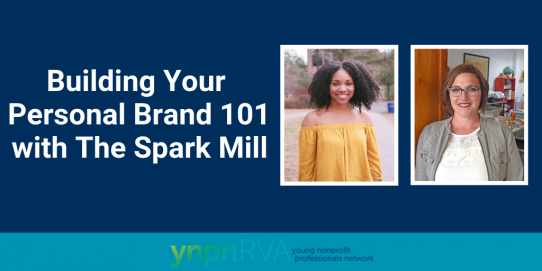 YNPN RVA's Building Your Personal Brand 101 with The Spark Mill